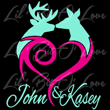 Amazon.com: Buck Doe Heart Deer Couple Customized With Names ... Legendary Whitetails Installation For Truck Buck Decal Youtube Amazoncom Commander Deer Vinyl Die Cut Sticker 6 White Browning Buckmark Hot Pink 2 Pack Left Right Doe Heart Couple Customized With Names Custom Back Window Decals Rear Graphics Apm All American Blades Camo Hotmeini 22863cm 2x Hunt Chasse Car Sahara Zebrafuchsia 1 Style And Similar Items Whitetail Hunting Country