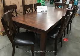 9 Piece Dining Room Set Costco House Bolton Intended For 6 9 Piece Ding Room Set Costco House Bolton Intended For 6 Sets Canada Cheap Leather Chairs Find Cove Bay Clearance Patio Small Depot Hampton Chair Pike Main 5 Pc Counter Height W Saddle Table Lovely Universal Pin By Annora On Round End Table Outdoor Tables Bayside Furnishings 699 Kitchen Fniture Attached Tablecloth Drawers Home Interior Design