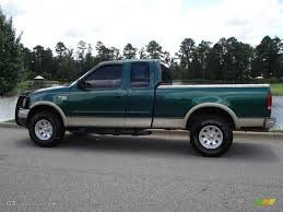 1999 Woodland Green Metallic Ford F150 Lariat Extended Cab 4x4 ... 21999 Ford F1f250 Super Cab Rear Bench Seat With Separate 1975 F250 Ignition Wiring Diagram Complete Diagrams 1999 Duty Fseries Truck Sales Brochure F150 Alternator Services Tenth Generation Wikipedia Dark Hunter Green Metallic Xl Extended Trucks V10 For Sale Genuine Ford Svt Lightning Review Rnr Automotive Blog Bangshiftcom 2006 Turn Signal Data