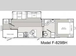 2008 Montana 5th Wheel Floor Plans by Used 2008 Forest River Rv Palomino Thoroughbred 829bh Fifth Wheel