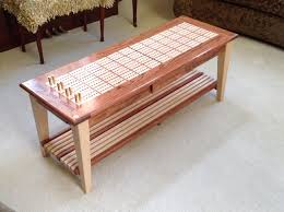 Cribbage Board Coffee Table