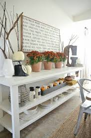 Liz Marie Blog Rustic Fall Dining Room Sbhomeus