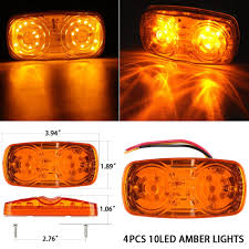 Shop For 4x High Bright Double Bullseye 10-LED Bulbs Side Marker ... 25 Oval Truck Led Front Side Rear Marker Lights Trailer Amber 10 Xprite 7 Inch Round Super Bright 120w G1 Cree Projector 4 Rectangular Lamp Light For Bus Boat Rv 12 Clearance Speedtech 12v 3 Indicators 4pcs In 1ea Of An Arrow B52 55101 Amber Marker Lights Parts World Vms 0309 Dodge Ram 3500 Bed Side Fender Dually Marker Lights 1pc Red Car Led Truck 24v Turn Signal 2018 24v 12v For Lorry Trucks 200914 F150 Front F150ledscom Tips To Modify Vehicle With Tedxumkc Decoration
