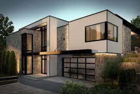la maison tanguay virtuelle et contemporaine façade maison