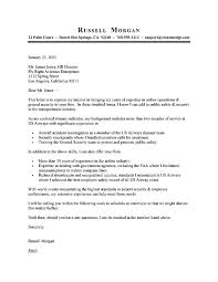Airline Resume Cover Letter Example 1
