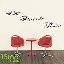 sticker citation cuisine food times wall sticker quote kitchen home wall
