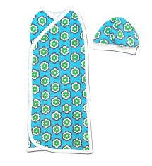 Perfectly Preemie Flower Power Pea Pod Swaddler
