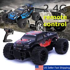 100 Monster Truck Toys For Kids 116 RC 24Ghz 4WD OffRoad Brushed Remote Control Car