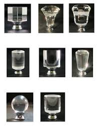 Square Crystal Lamp Finials by Lamp Finial Clear Crystal Lamp Finials With Polished Chrome Bases