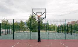 terrain de basket exterieur terrain de basket extérieur photos stock inscription gratuite