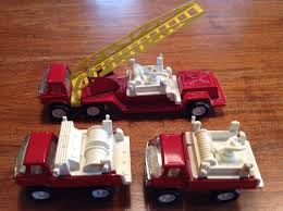100 Red Fire Trucks Vintage Set Of 3 Metal And 50 Similar Items