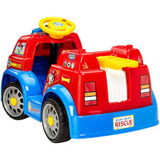 100 Fisher Price Fire Truck Ride On Power Wheels PAW Patrol 6Volt BatteryPowered Vehicle