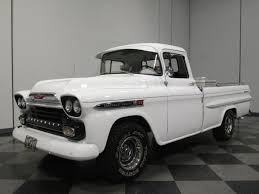 1959 Chevrolet Apache | EBay Tci Eeering 51959 Chevy Truck Suspension 4link Leaf Customer Gallery 1955 To 1959 Trucks History 1918 Chevrolet Apache 3100 Stock 139365 For Sale Near Columbus Oh Retyrd Photo Image Classic Cars Sale Michigan Muscle Old Amazoncom Custom Autosound Stereo Compatible With 1949 Chevygmc Pickup Brothers Parts 4x4 Rust Free Panel Very Cool Project Gmc Rat Rod 1958 Shortbed Stepsides Only Pinterest Chevy Chevrolet Station Wagon Rare 164 Scale Diorama Diecast One Fine 59