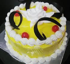 PINEAPPLE CAKE 500GM EGGLESS