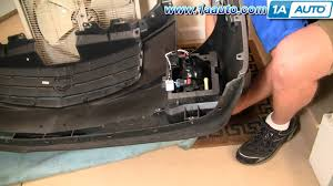 how to install replace fog signal running light cadillac cts 03 07