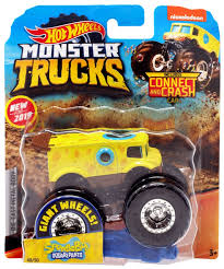 100 Hot Wheels Monster Truck Toys S Spongebob Squarepants DieCast Car