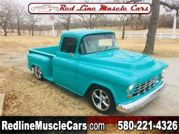 100 55 Chevy Trucks For Sale 19 Chevrolet 12 Ton Pickup For ClassicCarscom CC1064366