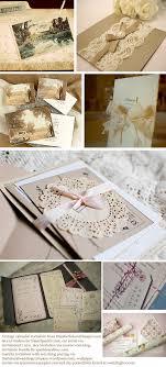 Diy Wedding Invitation Ideas Vintage