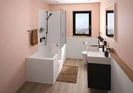 begehbare dusche zum baden