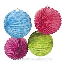 Paper Flower Decoration Hangings How To Make Birthday Decorations