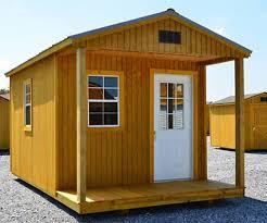 Derksen Sheds San Antonio by Derksen Portable Treated Cabin With Porch Visit Www