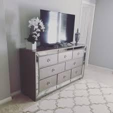 Z Gallerie Glass Dresser by Mirrored Hello Furniture