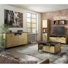 details zu wohnwand set anbauwand wohnkombi mediawand tv wand 5 tlg wohnzimmer industrial