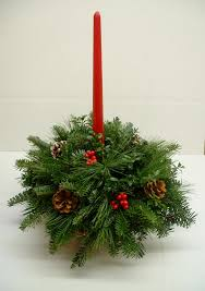 Pine Cone Christmas Tree Centerpiece by Christmas Arrangements Centerpieces U0026 Greenery Arrangements