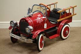 1930's American Style Toy Fire Truck Pedal Car, Well Restored And In ... John Deere Pedal Car Fire Truck M15 Nashville 2015 Fall Auction Owls Head Transportation Museum Murray Rpainted Engine Sale Number 2722t Lot A Late 20th Century Buddy L Childs Fire Truck Pedal Car 34 Classic Kids Black Or Red Free Shipping My A Crished Childhood Toy Collectors Weekly Lifesize And Then Some General Hemmings Daily Baghera Toy Mee Ldon Antique Cars 1950 Vintage1960s Super Deluxe Hap Moore Antiques Auctions Retro Fighter Comet Sedan Replica Vintage