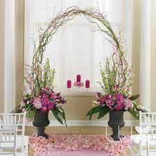 Indoor Wedding Ceremony Backdrop