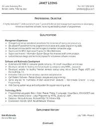 Good Sample Resume Format Examples Word Best Of A Perfect