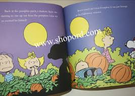 Linus Great Pumpkin Image by Hallmark Peanut Great Pumpkin Charlie Brown Hardcover Book 50th