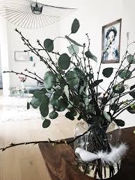 blumen vase kirschblüten deko wohnzimmer vase