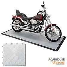 harley davidson皰 garage flooring kit 4 x8 alloy color