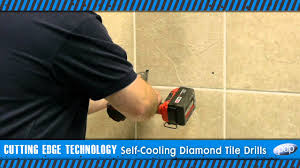 Drilling Through Ceramic Tile by How To Drill Porcelain And Hard Tiles Premier Diamond Self