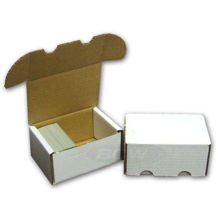 BCW Corrugated Cardboard Storage Box - 300 Count