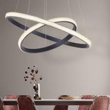 led hängeleuchte ring design dimmbar höhenverstellbar