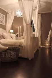 Black Canopy Bed Drapes by Romantic Bedroom Ideas Easy And Cheap Curtain Rod White