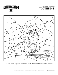 How To Train Your Dragon 2 Toothless The Following Coloring Pages