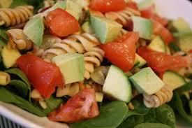 salade de pâtes au thon tomates avocat recettes de noémie abitbol