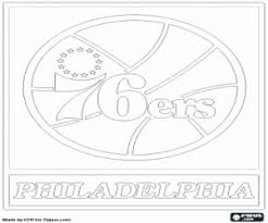 Emblem Of The Sixers Advertisement Detroit Pistons Logo Coloring Page