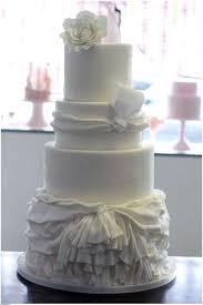 Wedding Inspiration 7 Stunning Wedding Gown Inspired Cakes
