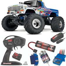 100 Bigfoot The Monster Truck Traxxas 110 RTR Special Edition W Radio