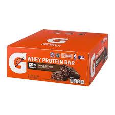 Gatorade Recover Whey Protein Bar Chocolate Chip