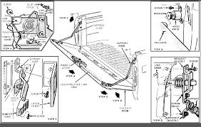 Ford Tailgate Diagram - DIY Wiring Diagrams •