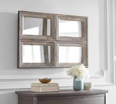 Pivot Bathroom Mirror Australia by Wall Mirrors Decorative Mirrors U0026 Round Mirrors Pottery Barn