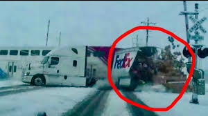 If Your Car Parts Are Late, This Dramatic Truck Vs Train Smash ... Train Carrying Gop Lawmakers To Policy Retreat Hits Garbage Truck Hook And Ladder Fire Vs Amtrak Fanatics Video Diesel Brothers Episode Four Recap Another Vs Semi Accident Klem 1410 Insane Footage Shows Slam Into Fedex On Tracks Nbc Bay Cause Of Train Semi Truck Crash In Stevens Point Still Under Crashes With Semitruck Aurora Oregonlivecom In Tow The Wins Bradenton Herald Trains Trucks Video Huffpost Collides Overpass Coquitlam News 1130 Hits Trailer Moving Local News Valdostadailytimescom