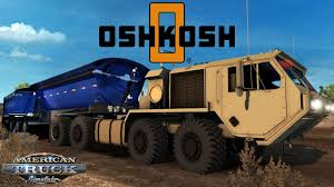 American Truck Simulator: Oshkosh Defense HEMTT - Midland TW3500 B ... Okosh Truck Unloading Humvee Jeep From Hydraulic Trailer Stock Kosh Striker 4500 Airport 3d Model 360 View Of Fmtv M1087 A1p2 Expansible Van Truck 2016 3d Laden With Being Driven Though Woodland Hydraulic Lowered On Video Footage Photos Images Page 3 Alamy A98 3200g969 Fda238 Front Drive Steer Axle Tpi Trucks Google Search Pinterest Military American Simulator Defense Hemtt Midland Tw3500 B