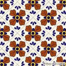 mexican tile blue seville mexican tile