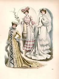 Vintage Fashion Victorian Wedding Dresses Gowns